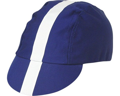 Pace Sportswear Classic Cycling Cap (Purple w/ White Tape) (M/L)