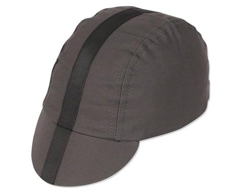 Pace Sportswear Classic Cycling Cap (Charcoal w/ Black Tape) (XL)