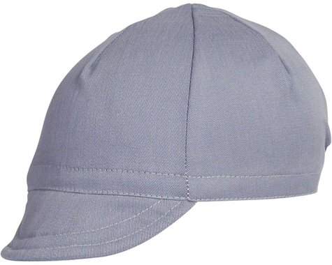 Pace Sportswear Euro Soft Bill Cycling Cap (Slate) (MD/LG)