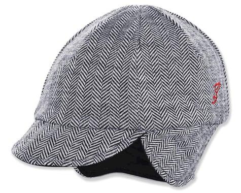 Pace Sportswear Reversible Merino Wool Cap (HerringBone/Black)