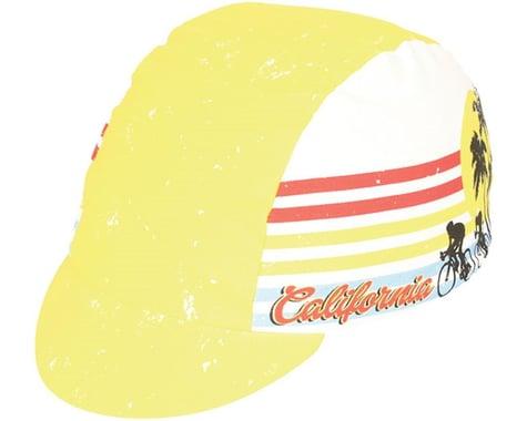 Pace Sportswear Cali Dreamin' Cycling Cap (Yellow)
