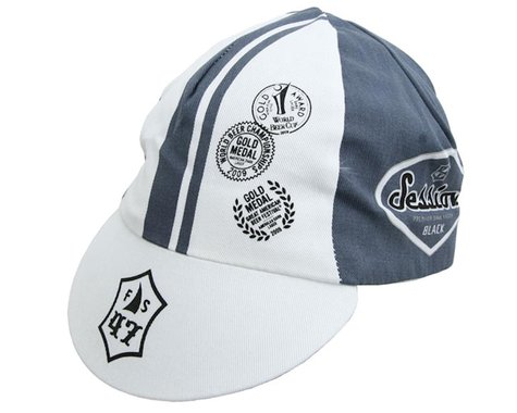 Pace Sportswear Session Traditional Cap (Grey/White)
