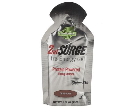 Pacific Health Labs 2nd Surge Ultra Energy Gel (Chocolate) (8 1.0oz Packets)