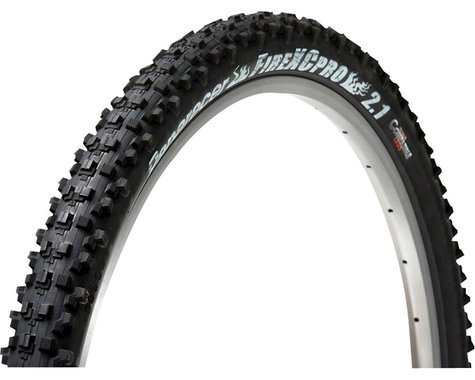 Panaracer Fire XC Pro Tire - 26 x 2.1, Clincher, Wire, Black, 30tpi