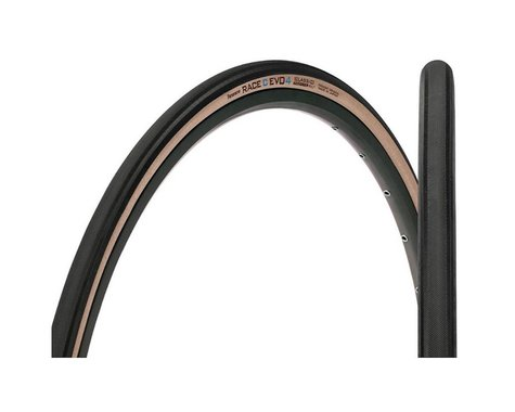 Panaracer Tires Pan Race C Evo 4 Road Tire (Black/Amber) (700c) (26mm)