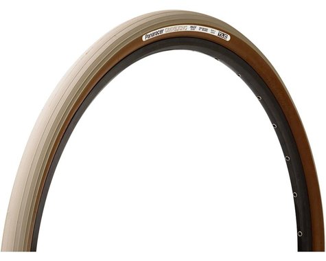 Panaracer Gravelking Tubeless Slick Tread Gravel Tire (Sand Stone/Brown)