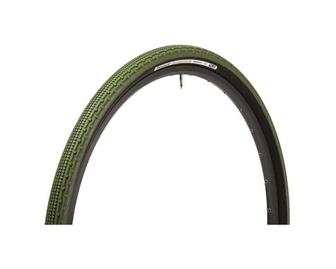 Panaracer Gravelking SK Tubeless Gravel Tire (Military Green/Black)