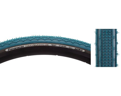 Panaracer Gravelking SK Tubeless Gravel Tire (Nile Blue/Black)