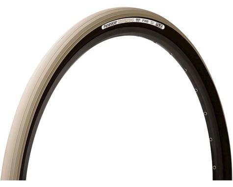 Panaracer Gravelking Tubeless Slick Tread Gravel Tire (Sand Stone/Black) (700 x 35)
