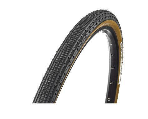 Panaracer Gravelking SK Tubeless Gravel Tire (Black/Brown) (700 x 35)