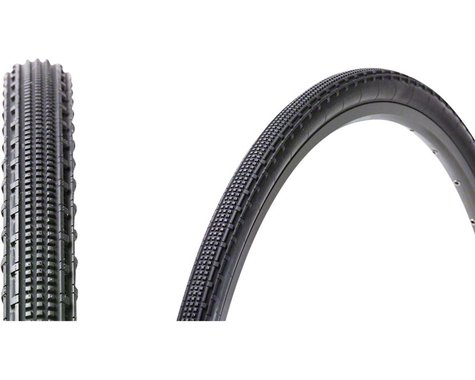Panaracer Gravelking SK Tubeless Gravel Tire (Black/Black) (700 x 43)