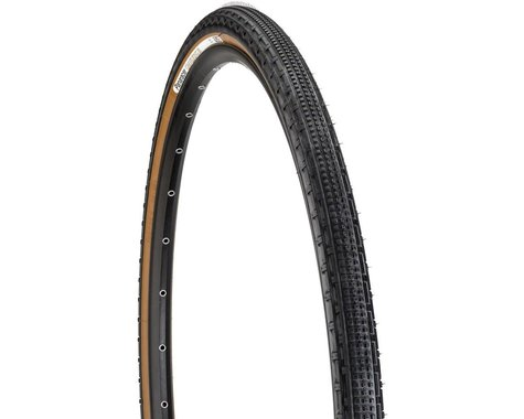 Panaracer Gravelking SK Tubeless Gravel Tire (Black/Brown) (700c) (43mm)