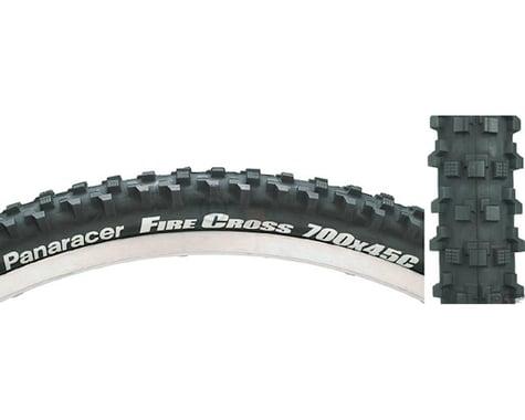 Panaracer Fire Cross Tire - 700 x 45, Clincher, Folding, Black, 60tpi