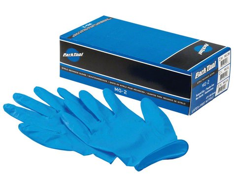 Park Tool MG-2 Nitrile Mechanic Gloves (Blue) (100/Box) (M)
