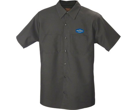 Park Tool MS-1.2 Mechanic Shirt (Charcoal) (2XL)