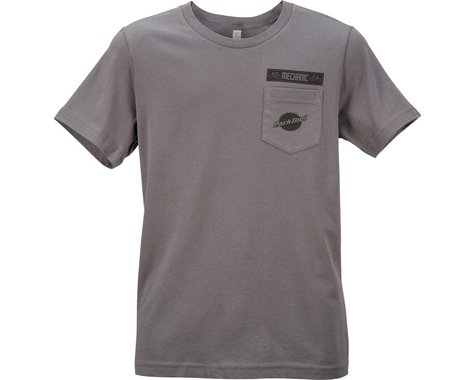 Park Tool Pocket T-Shirt (Gray) (S)