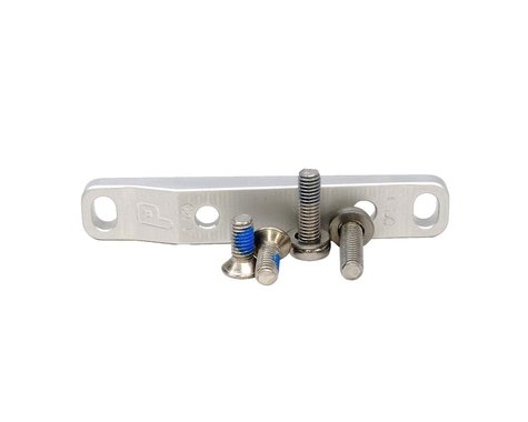Paul Components Flat Mount Bracket w/ Bolts (Silver) (Front) (140/160mm)