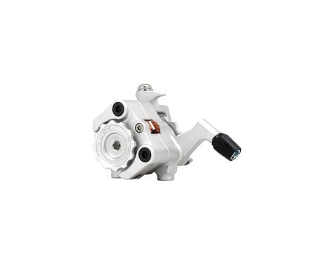 Paul Components Klamper Short Pull Disc Brake Caliper (Silver/Orange)