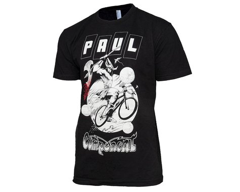 Paul Components Barbarian Tee Shirt (Black) (L)