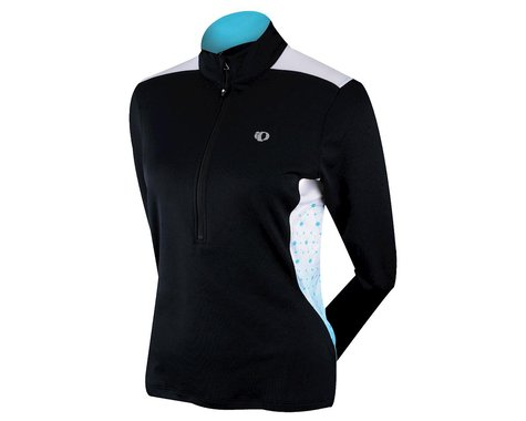 Pearl Izumi Women's Superstar Thermal Print Long Sleeve Jersey (Black)