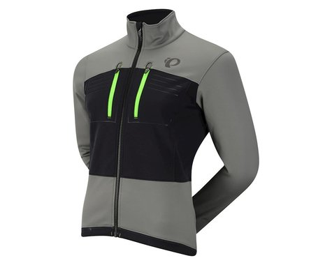 Pearl Izumi Elite Escape Softshell Jacket (Black/Grey)