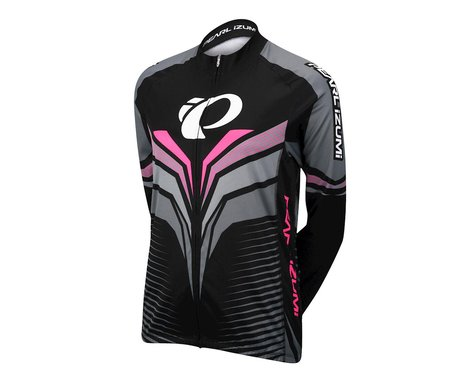 Pearl Izumi Elite Thermal LTD Long Sleeve Jersey (Black/Pink)