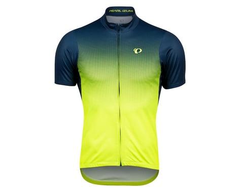 Pearl Izumi Select LTD Short Sleeve Jersey (Navy/Yellow Transform)
