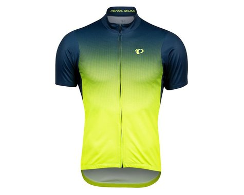 Pearl Izumi Select LTD Short Sleeve Jersey (Navy/Yellow Transform) (2XL)
