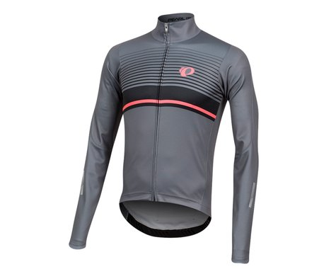 Pearl Izumi Elite Pursuit Thermal Graphic Jersey (Smoke Pearl/Black Diffuse)