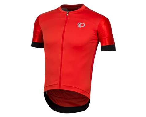 Pearl Izumi Elite Pursuit Graphic Short Sleeve Jersey (Torch Red Stripe)