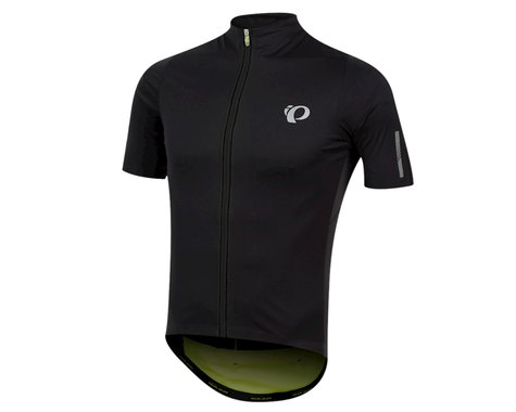Pearl Izumi PRO Pursuit Wind Jersey (Black/Screaming Yellow) (L)