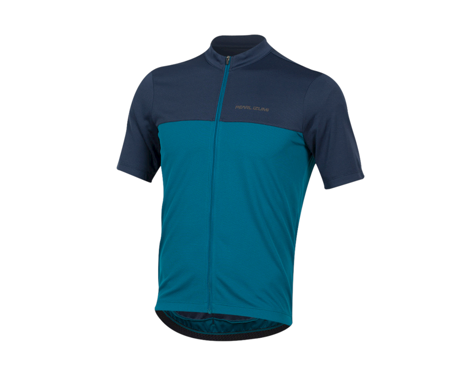 Pearl Izumi Quest Short Sleeve Jersey (Navy/Teal) (XL)