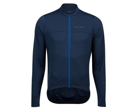 Pearl Izumi Quest Long Sleeve Jersey (Navy/Lapis) (S)