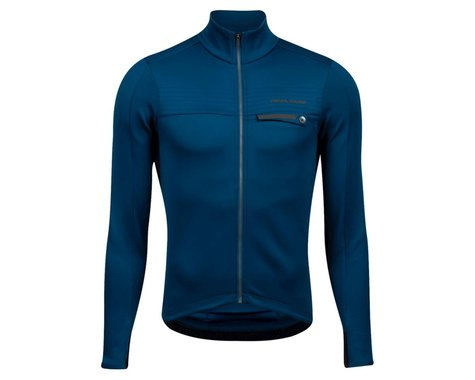 Pearl Izumi Interval Thermal Long Sleeve Jersey (Twlight) (XL)