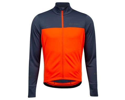 Pearl Izumi Quest Thermal Jersey (Solar Flare/Navy)