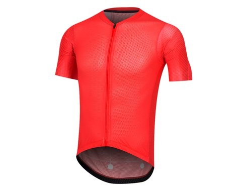 Pearl Izumi Men's PRO Mesh Jersey (Torch Red Stripe)