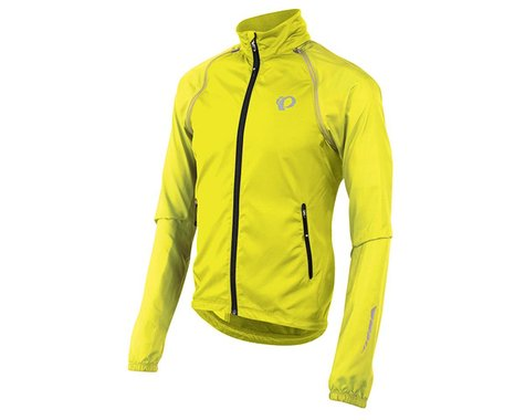 Pearl Izumi Elite Barrier Convertible Jacket: Screaming Yellow SM