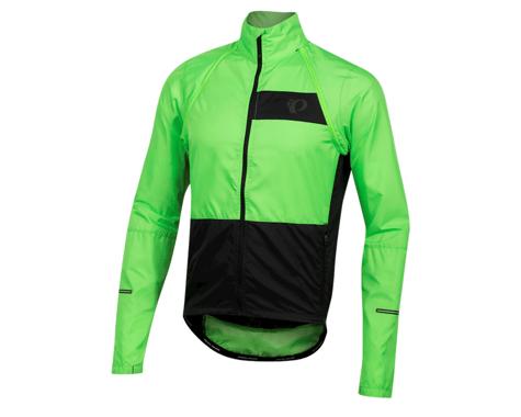 Pearl Izumi Elite Escape Convertible Jacket (Screaming Green/Black) (M)