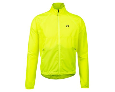 Pearl Izumi Quest Barrier Convertible Jacket (Screaming Yellow) (XL)