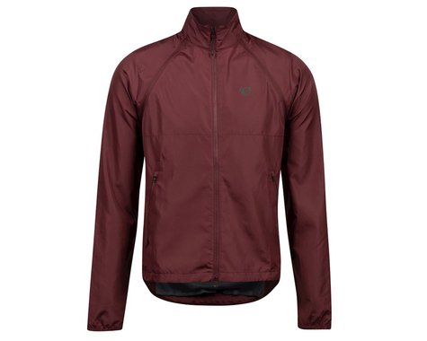Pearl Izumi Quest Barrier Convertible Jacket (Garnet) (M)