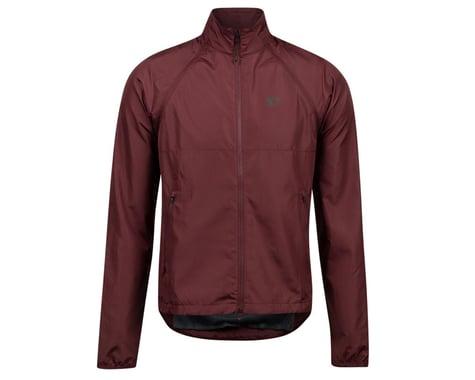 Pearl Izumi Quest Barrier Convertible Jacket (Garnet) (S)