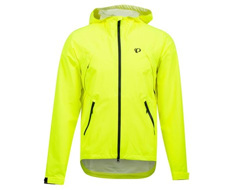 Pearl Izumi Monsoon WXB Hooded Jacket (Screaming Yellow/Phantom) (S)