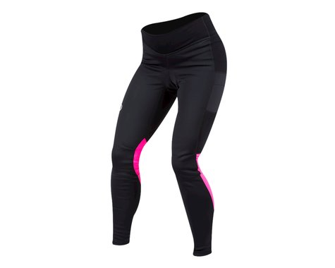 Pearl Izumi Women's Elite Escape AmFIB Cycle Tight (Black/Screaming Pink) (XS)