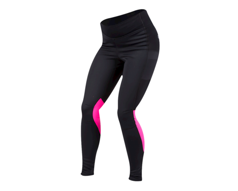 Pearl Izumi Women's Elite Escape AmFIB Tight (Black/Screaming Pink) (S)