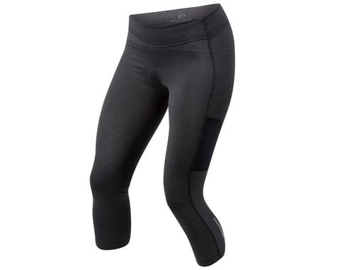 Pearl Izumi Women's Sugar Thermal Cycling 3/4 Tight (Black) (2XL)