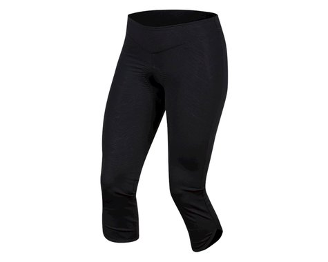 Pearl Izumi Women's Select Escape Cycle 3/4 Tight (Black Phyllite Texture) (XL)