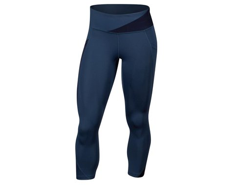 Pearl Izumi Women's Wander Crop Tight (Dark Denim/Navy) (XL)