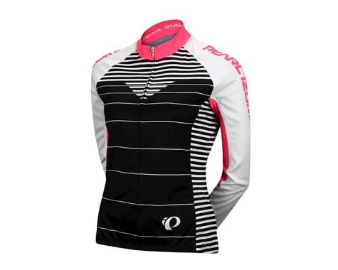 Pearl Izumi Women's Elite Thermal LTD Long Sleeve Jersey (Black/White) (Xlarge)