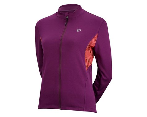 Pearl Izumi Women's Sugar Thermal Jersey Print (Black/Purple)