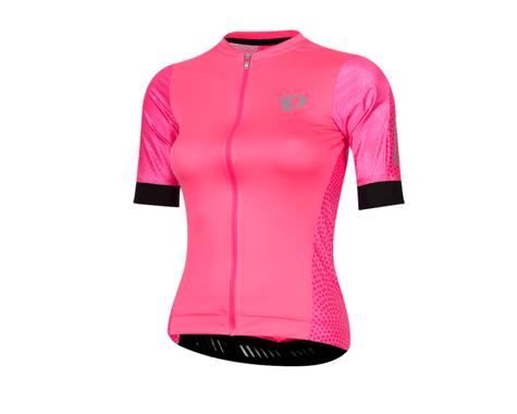 Pearl Izumi Women's Elite Pursuit Speed Jersey (Pink Kimono)